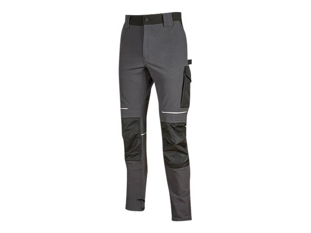 Pantalon multipoches gris - Taille 3XL - Atom U-Power