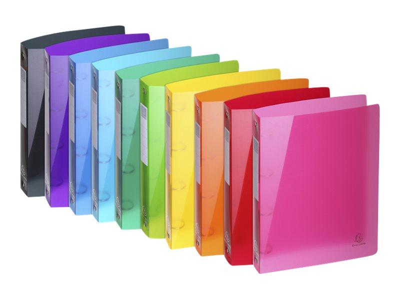 Exacompta Iderama - Classeur souple à anneaux - Dos 40 mm - A4 - pour 275 feuilles - disponible dans différentes couleurs