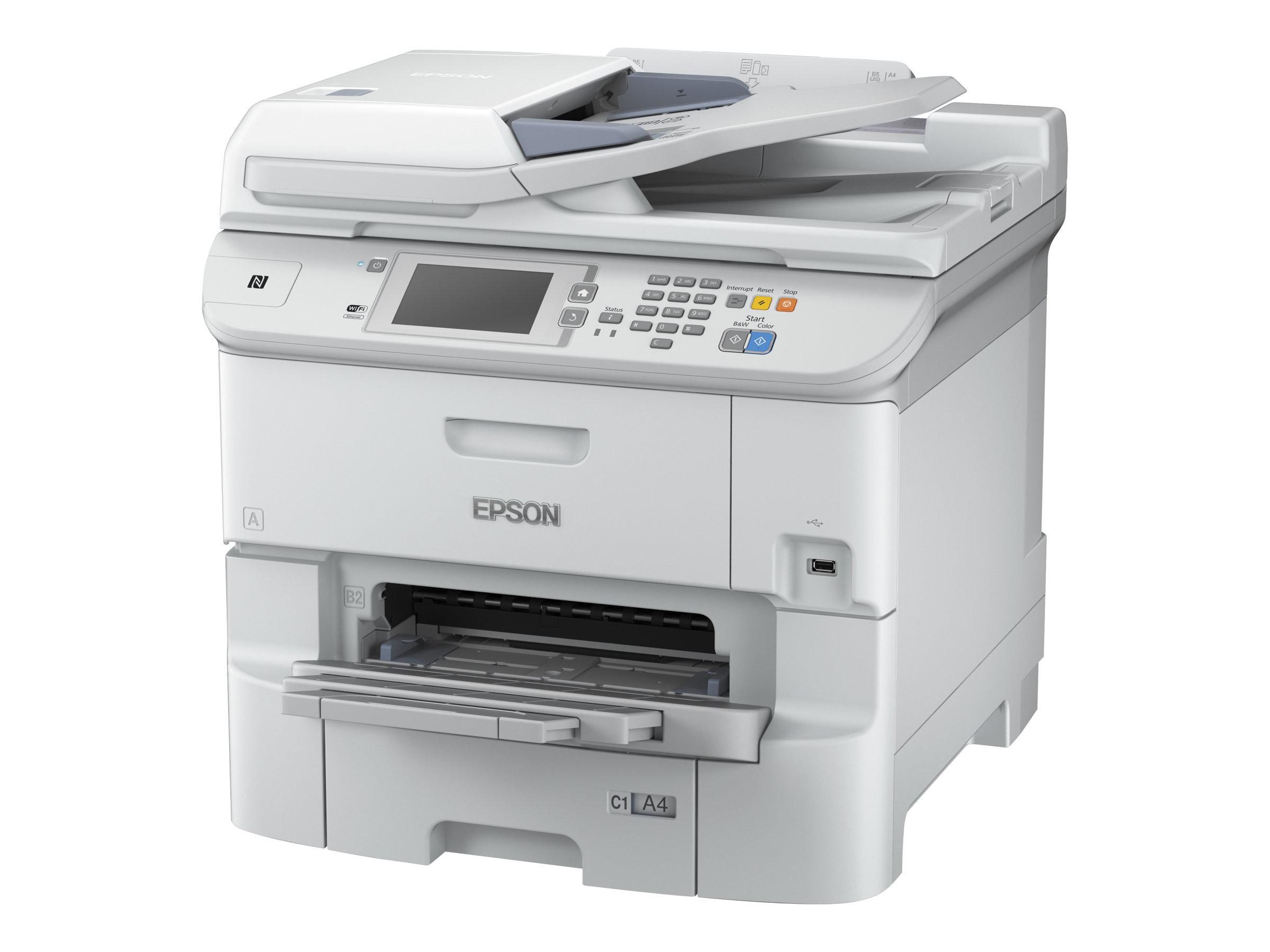 Epson WorkForce Pro WF-6590DWF - imprimante multifonctions jet d'encre couleur A4 - Wifi, USB, NFC - recto-verso