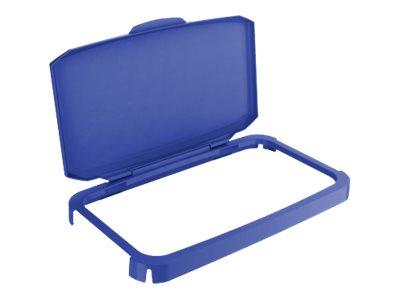 Durable - Couvercle de poubelle 60L - bleu