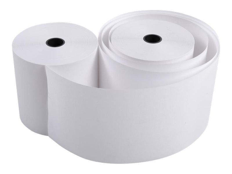 Exacompta - 50 Bobines caisses et calculatrices - papier offset 70 x 70 x 12 mm - 42 m