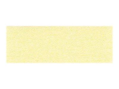 Clairefontaine Premium - Papier crépon - Rouleau 50 cm x 2,5 m - 40 g/m² - jaune paille