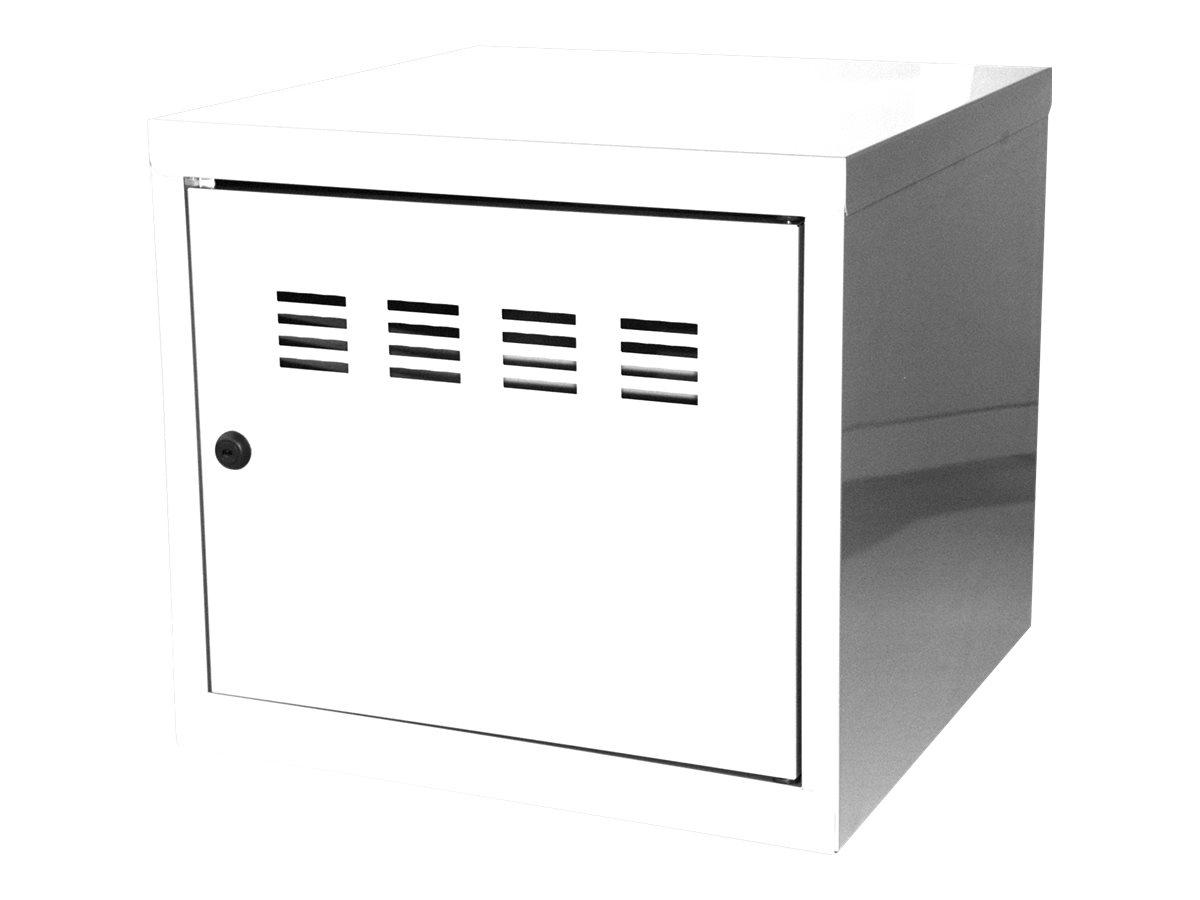 Casier cube / Vestiaire - 36 x 40 x 40 cm - blanc