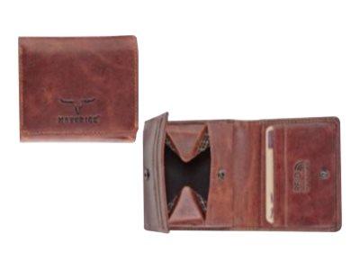 Maverick - Portefeuille sécurisé RFID - marron