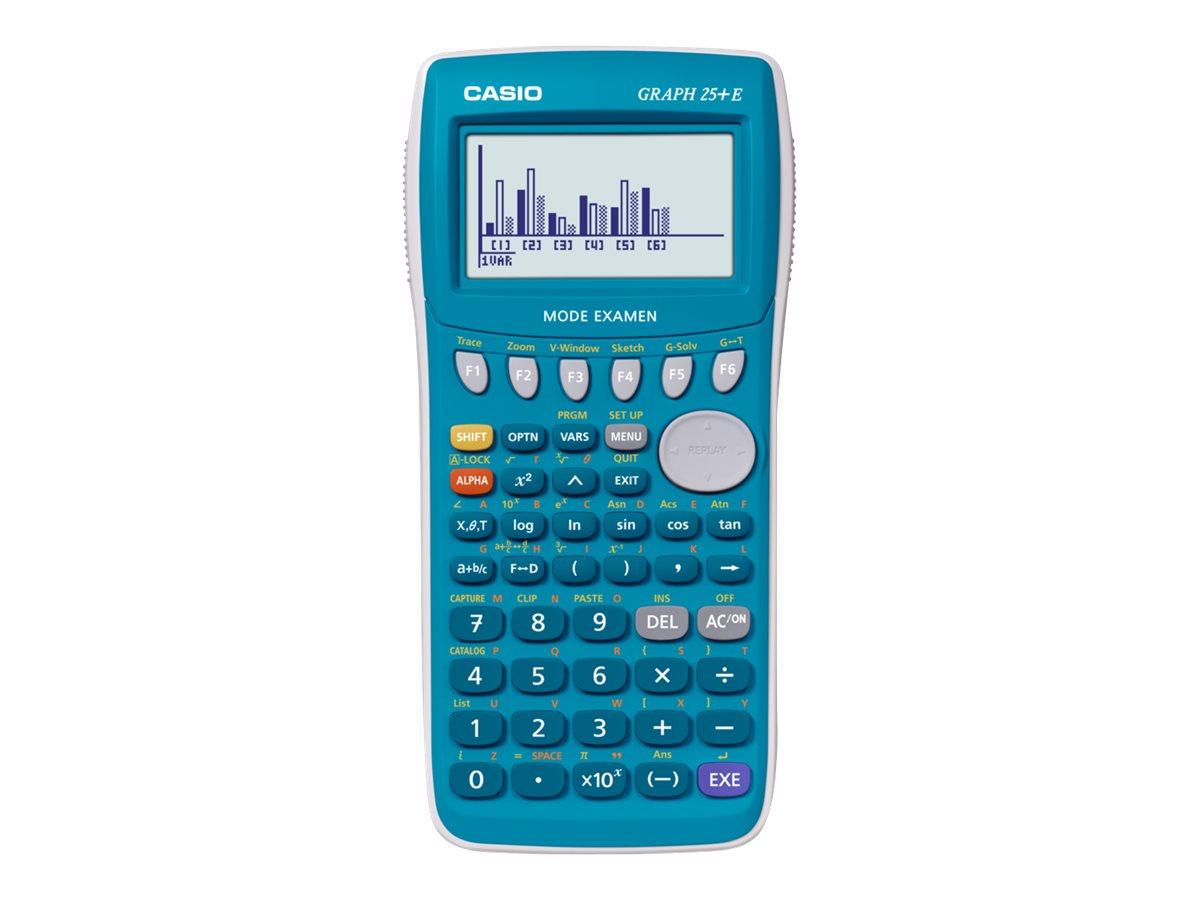 Calculatrice graphique Casio GRAPH 25+ E - mode examen intégré