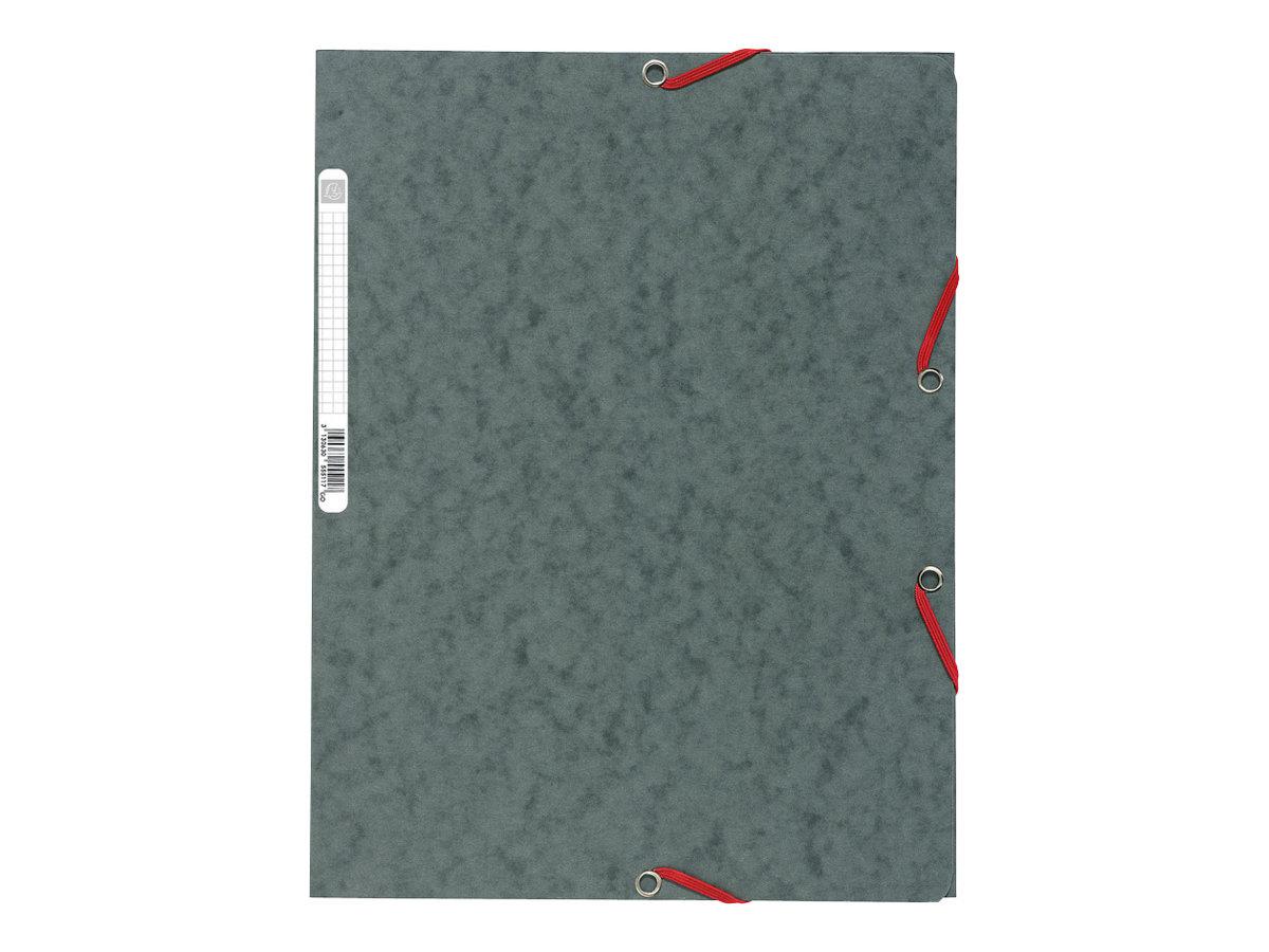 Exacompta Nature Future - Chemise à 3 rabats - A4 - pour 250 feuilles - gris