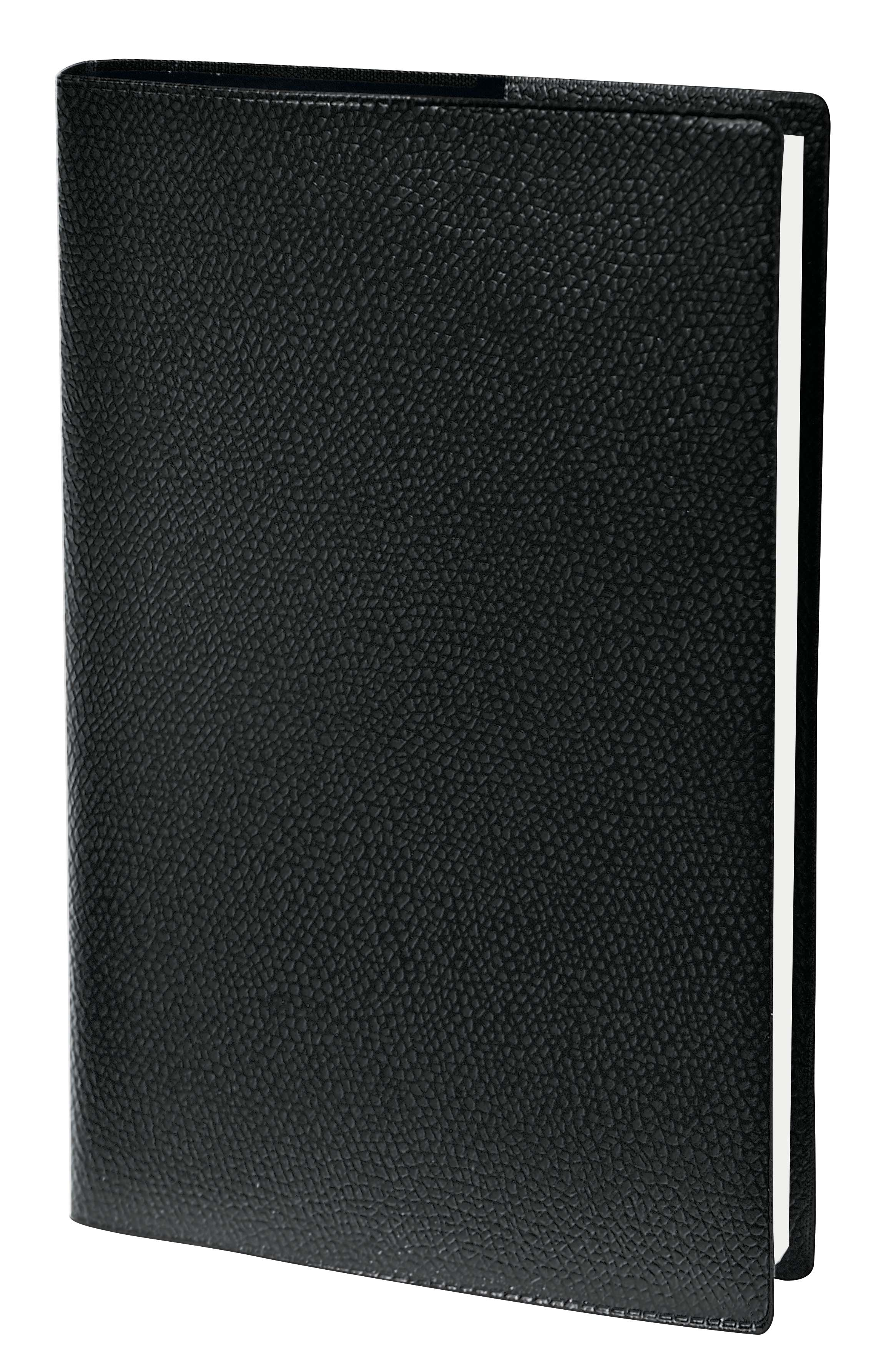 Agenda Impala 1 semaine sur 2 pages - 18 x 24 cm - noir - Quo Vadis
