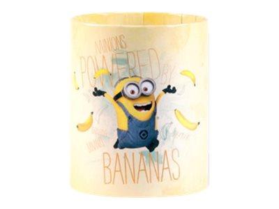 Les Minions - Pot à crayons rond modèle bananas - Clairefontaine