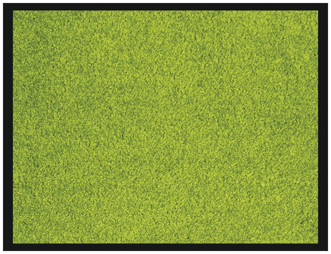 Tapis de sol absorbant RAINBOW - 60 x 90 cm - en polyamide - anis