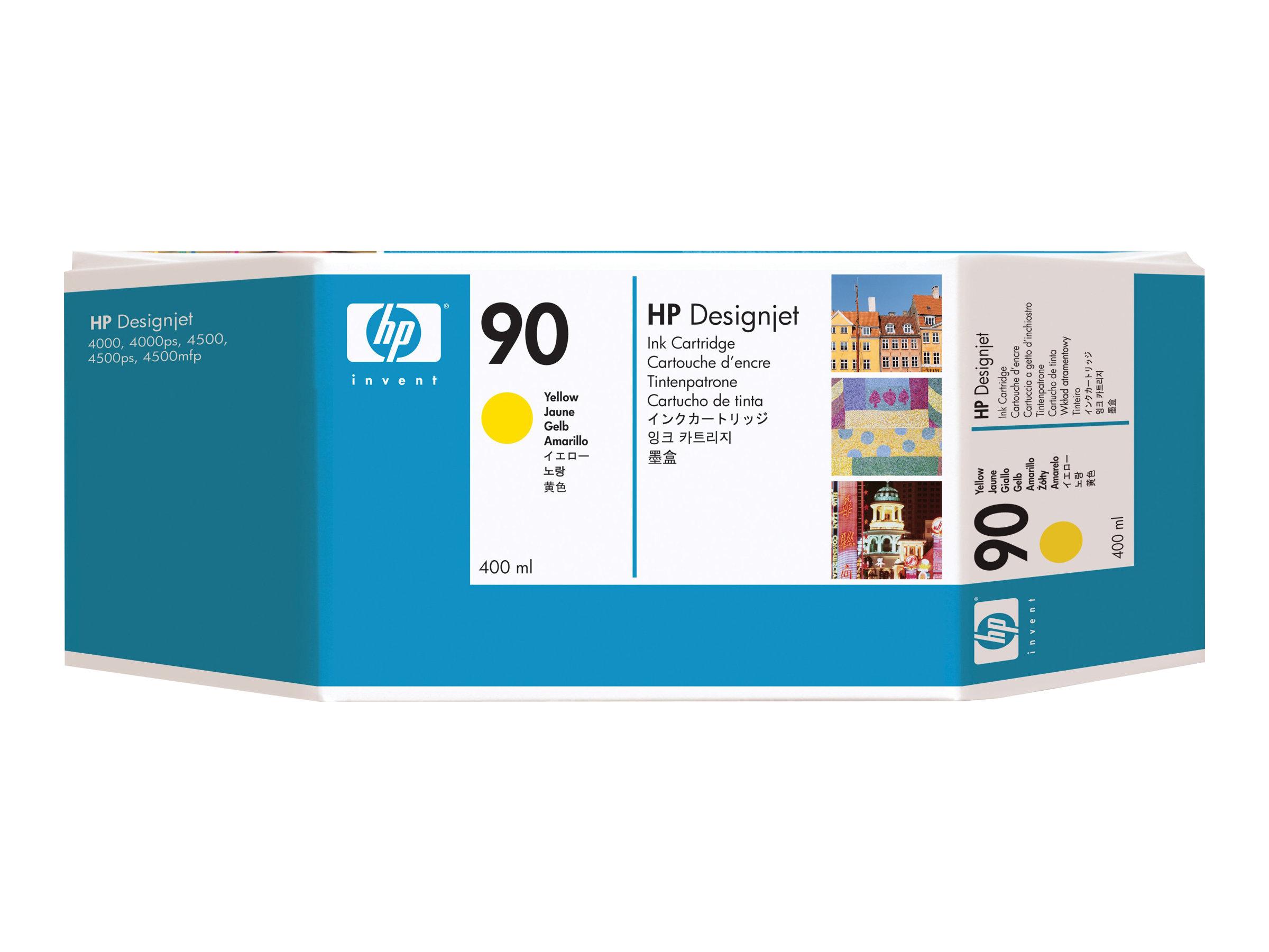 HP 90XL - jaune - cartouche d'encre originale