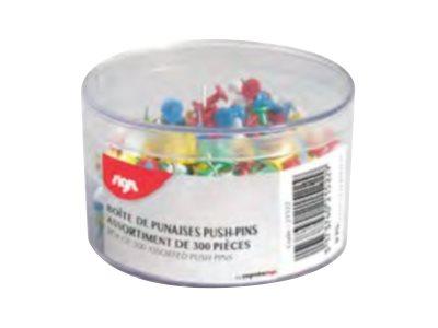 Sign - 300 Punaises signalétique - 7 mm - couleurs assorties