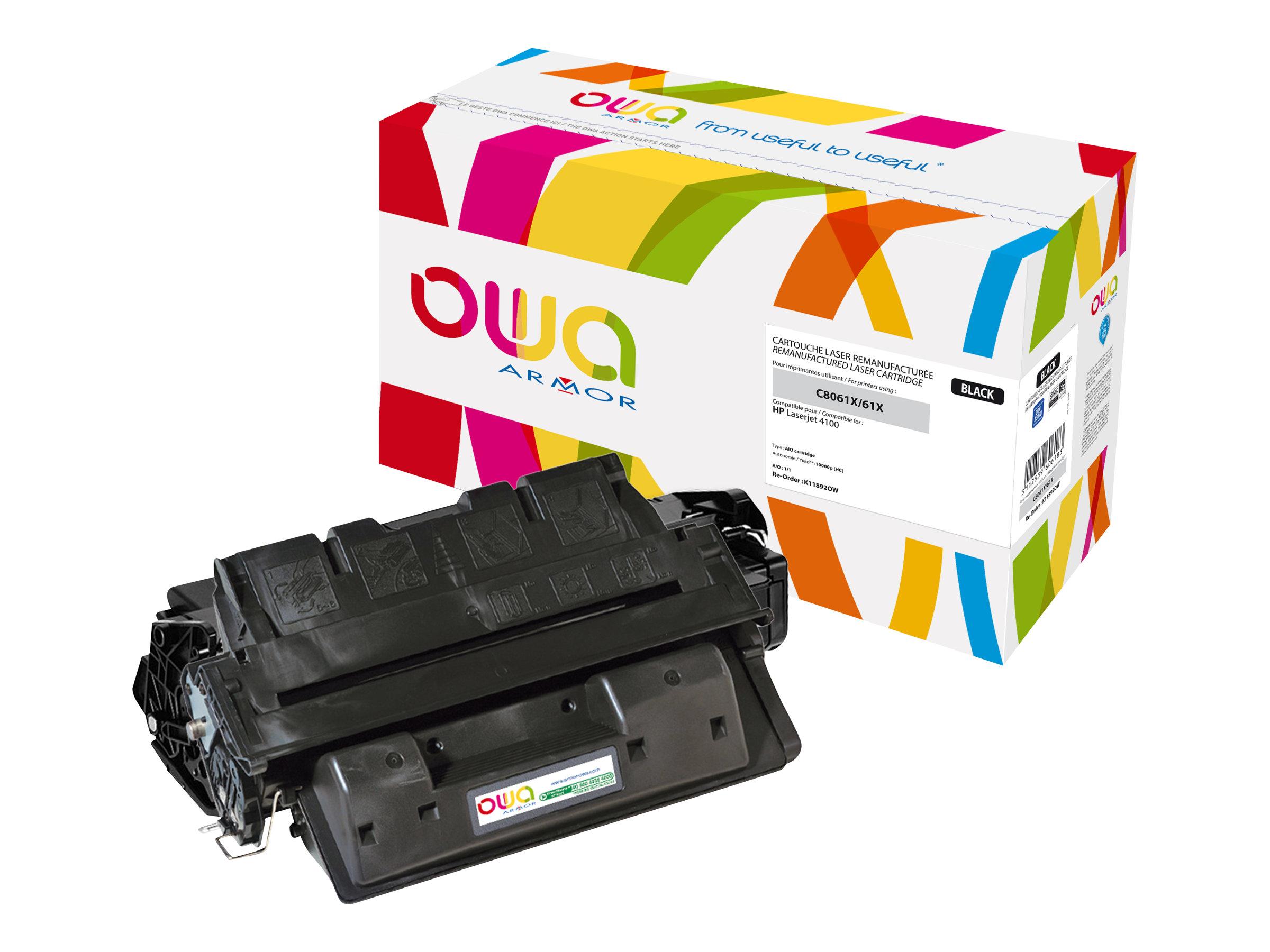 HP 61X - remanufacturé Owa K11892OW - noir - cartouche laser