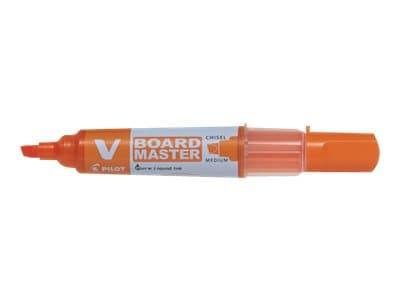 Pilot V BOARD MASTER - Marqueur effaçable - pointe biseau - orange