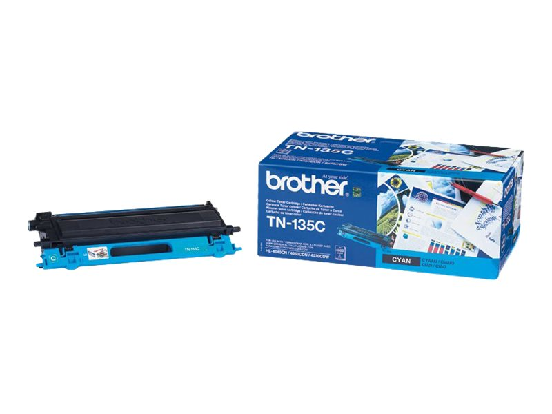 Brother TN135 - cyan - cartouche laser d'origine
