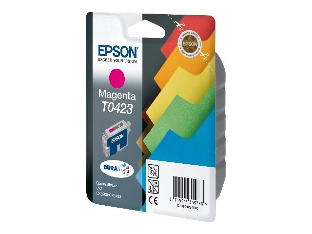 Epson T0423 Intercalaires - magenta - original - cartouche d'encre