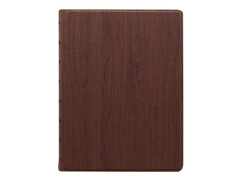 Filofax Architexture - Carnet de notes à spirale A5 - bois de rose