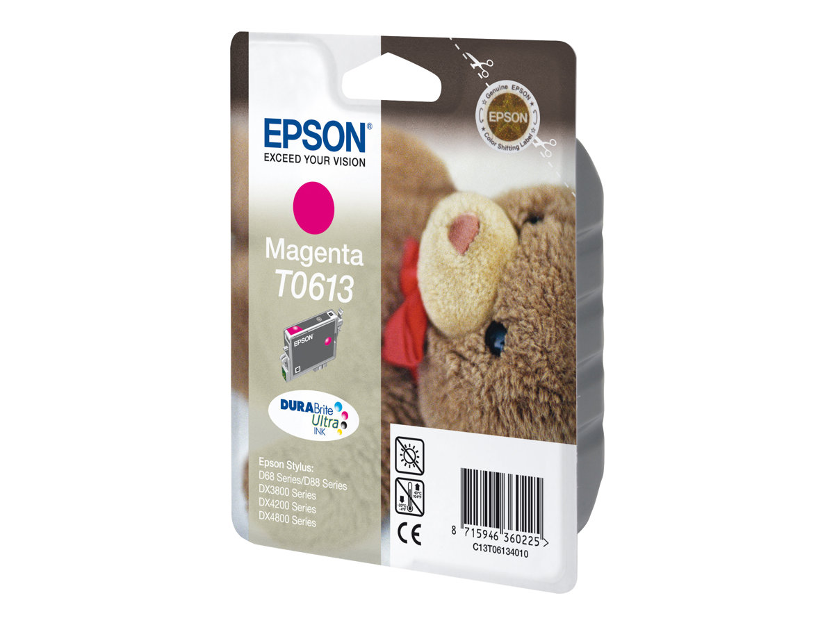 Epson T0613 Ourson - magenta - cartouche d'encre originale
