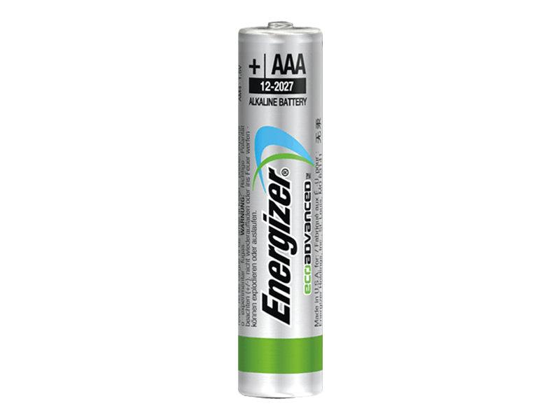 Energizer EcoAdvanced batterie 4 x type AAA Alcaline