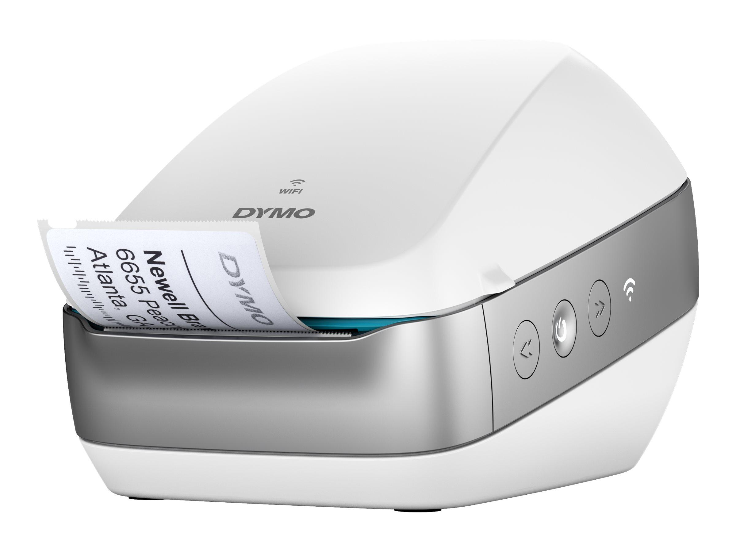 Dymo LabelWriter Wireless  -  Étiqueteuse  - imprimante d'étiquettes wifi monochrome  - impression thermique directe -  blanche