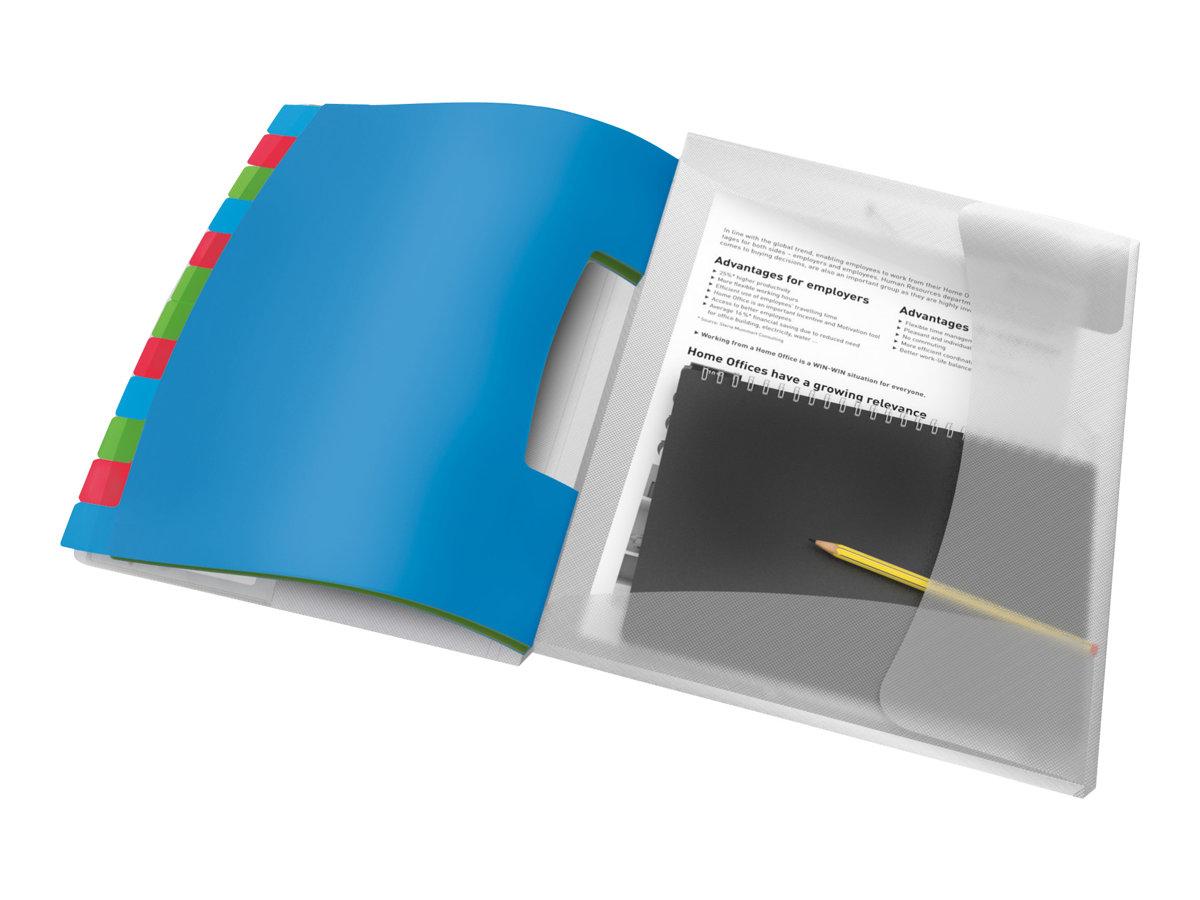 Esselte Vivida - Trieur polypro 12 positions - multicolore