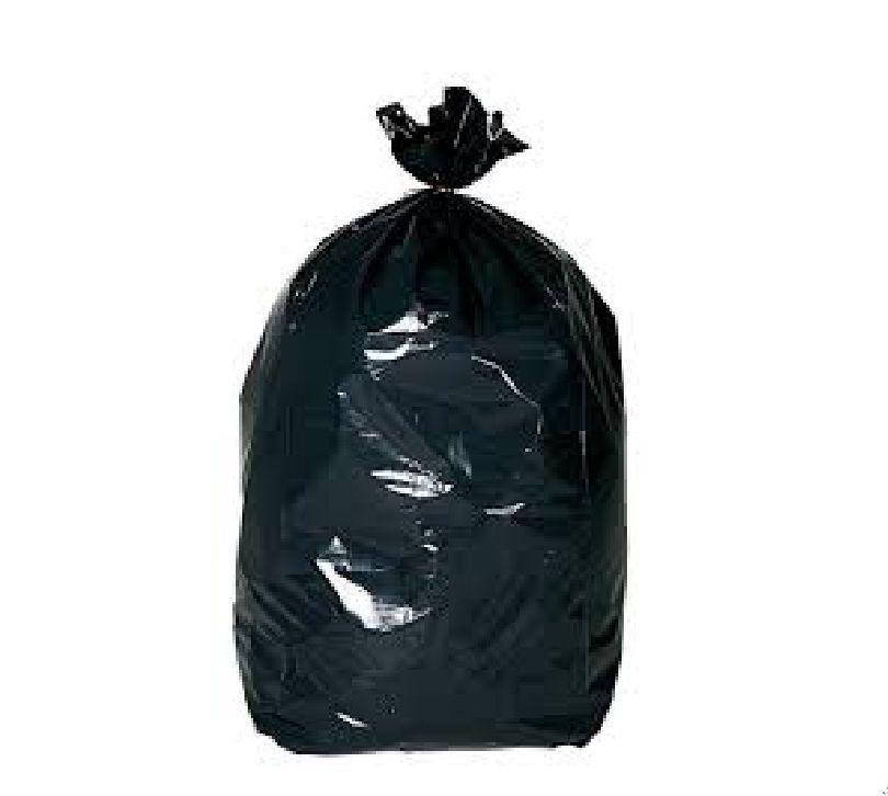 20 Sacs poubelle noir 100L - 35 microns