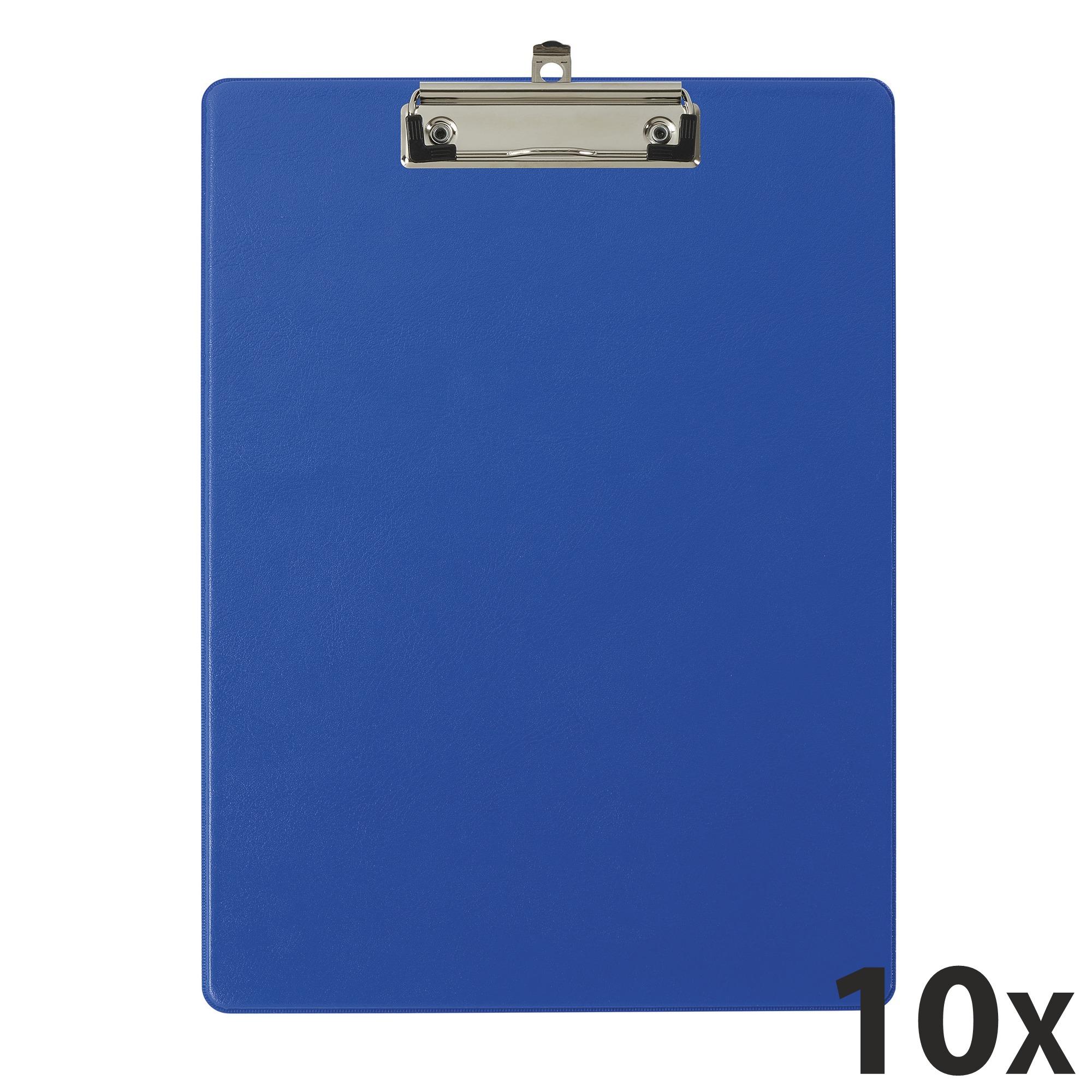 Exacompta - 10 Porte blocs avec pochette - A4 - bleu