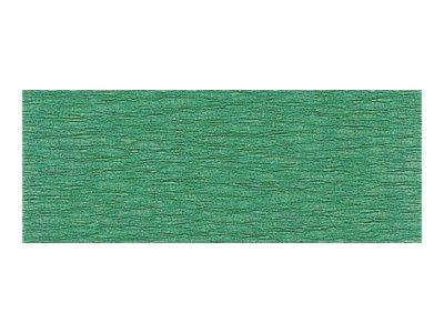 Clairefontaine Premium - Papier crépon - Rouleau 50 cm x 2,5 m - 40 g/m² - vert foncé
