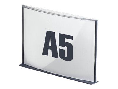 Plaque de signalisation Cinatur - Format A5 - Anthracite