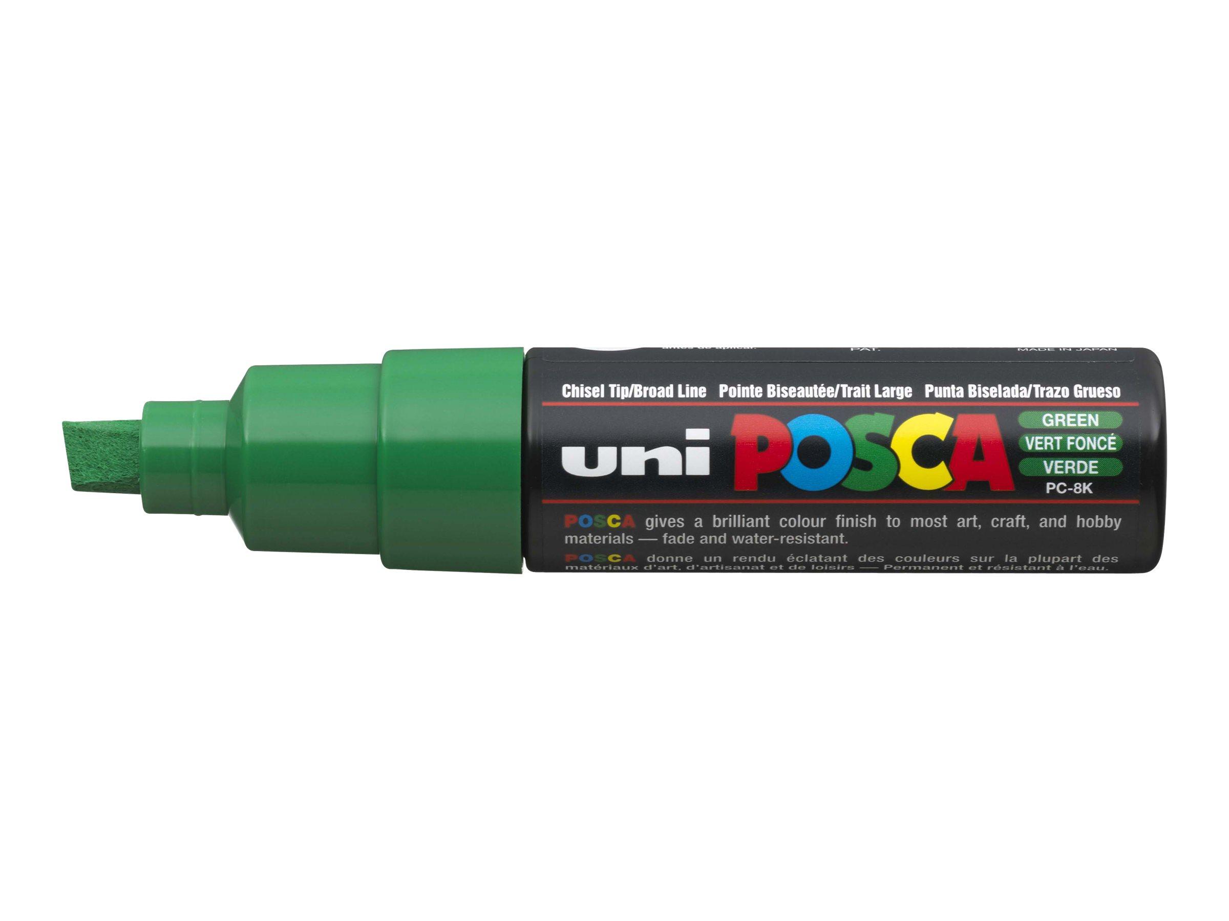 Posca - marqueur peinture pointe large - Vert Foncé