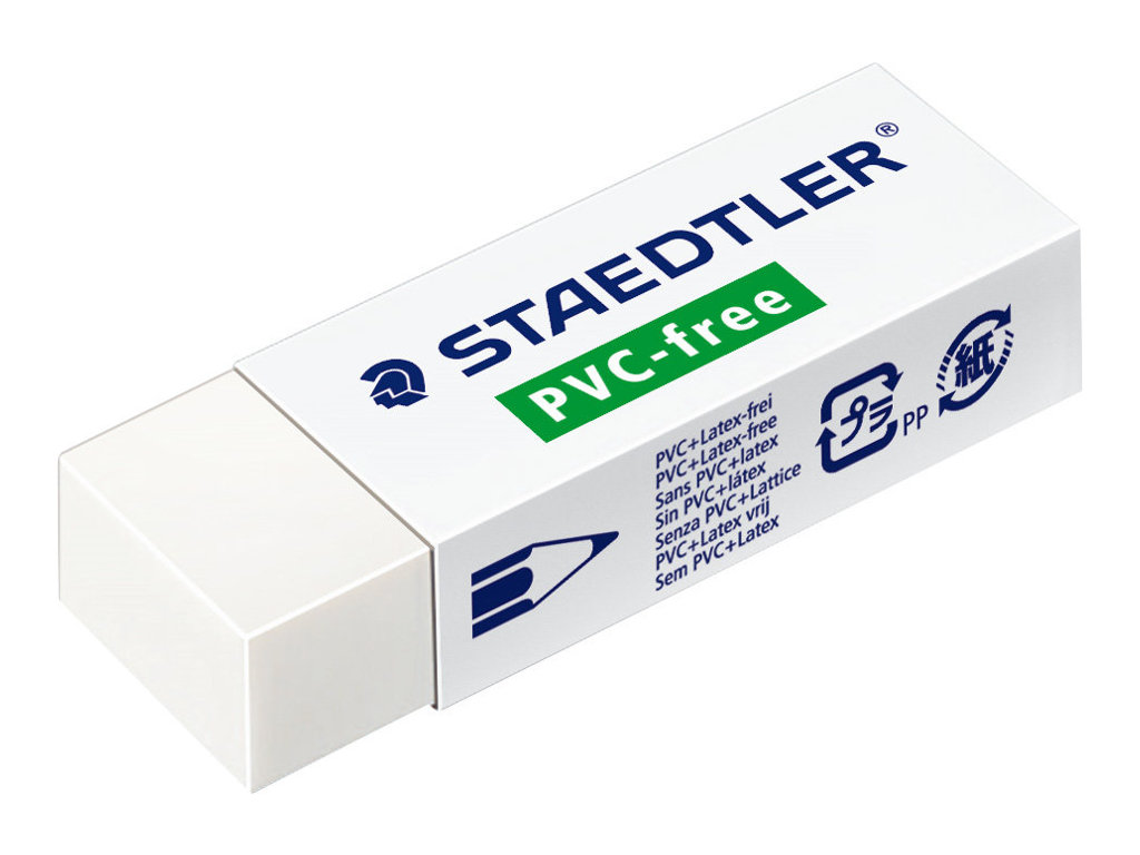 STAEDTLER - Gomme sans PVC ni Latex