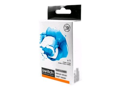 Brother LC121/LC123 - compatible Switch - cyan - cartouche d'encre