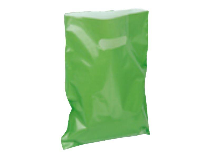 Carton Service - 100 Sacs plastique PDR - 25 x 32 cm - vert
