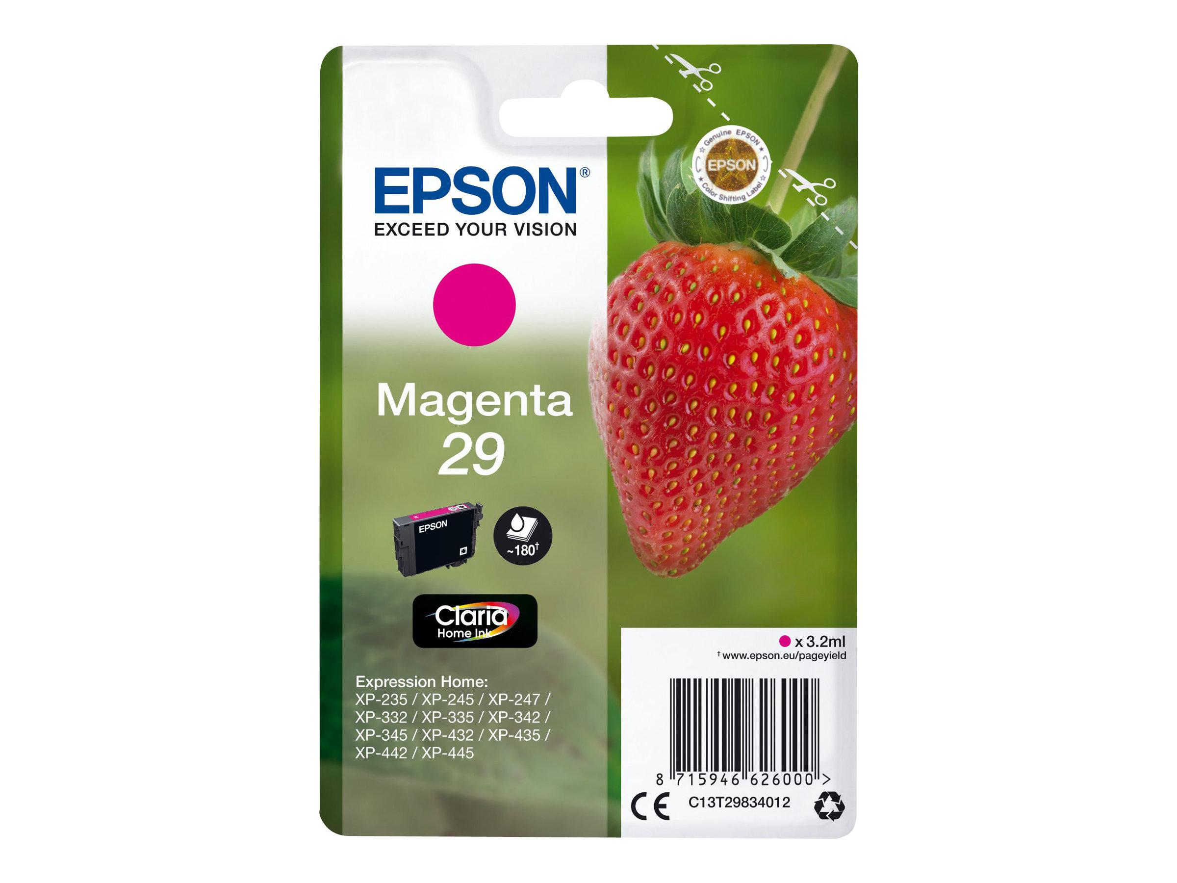 Epson 29 Fraise - magenta - cartouche d'encre originale