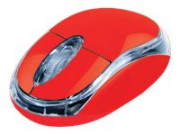 TX MS1 - souris filaire - rouge