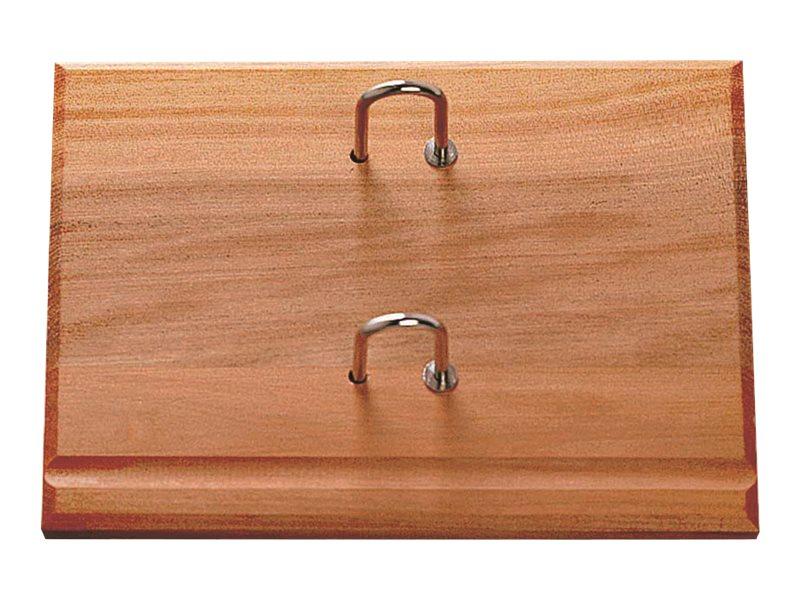 Lecas - Socle éphéméride en bois