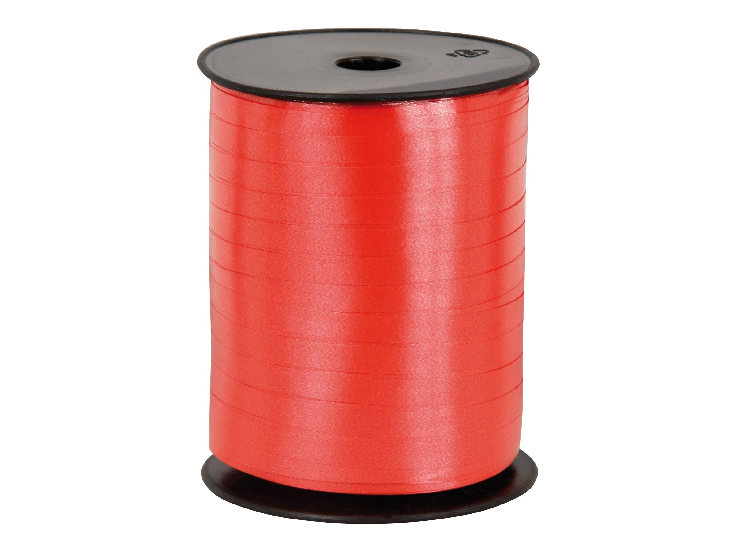 Logistipack - Bolduc brillant - ruban d'emballage 7 mm x 500 m - rouge