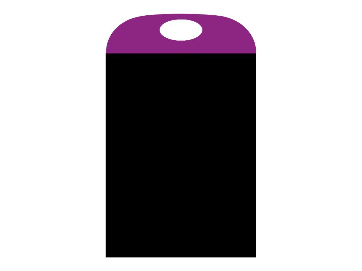 Bequet Portacolor - Ardoise 70 x 40 cm - poignée violet