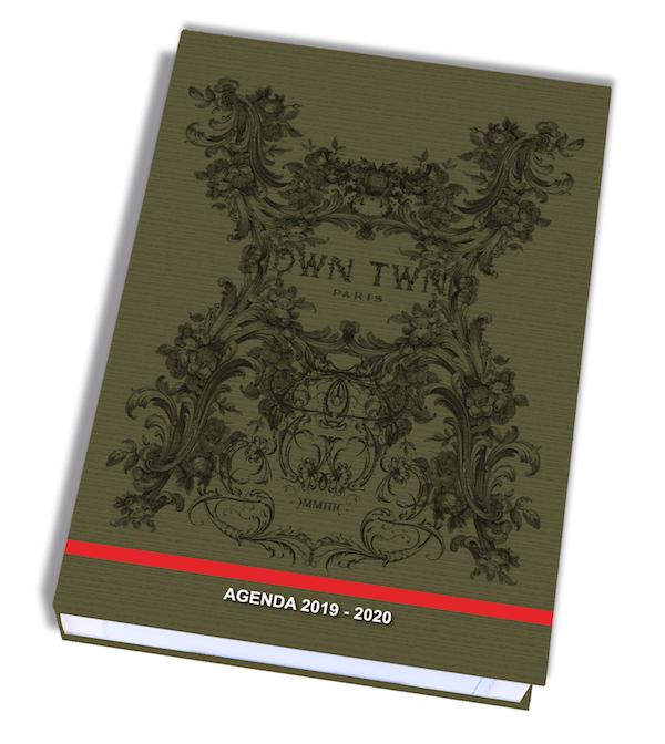 Dwn Twn Agenda 1 Jour par page 12X17cm 352 pages Kid'Abord