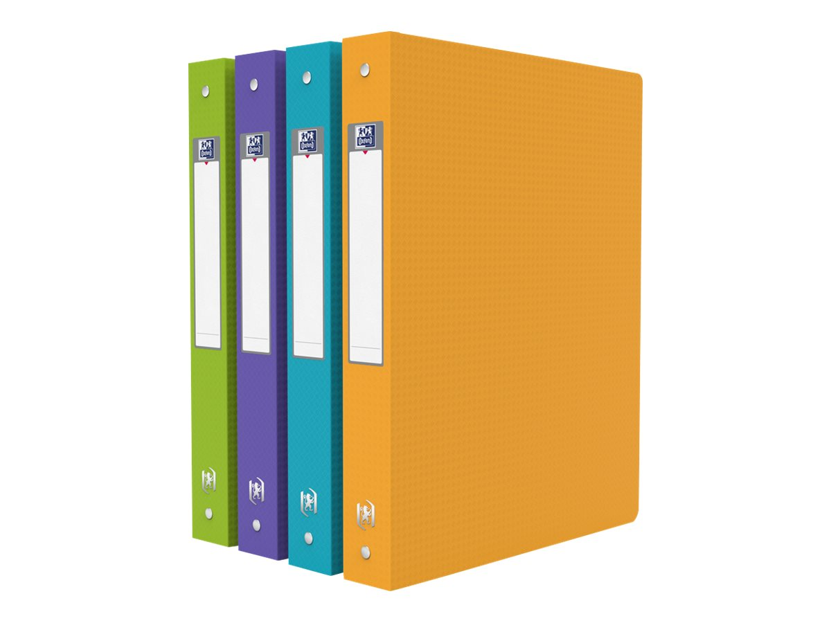 Memphis Style - Classeur souple à anneaux - Dos 40 mm - A4 - pour 225 feuilles - disponible dans différentes couleurs