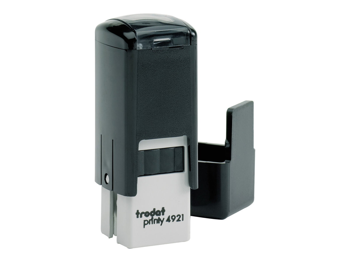 Trodat Printy 4921 - Tampon carré auto-encreur - texte personnalisable - 12 x 12 mm