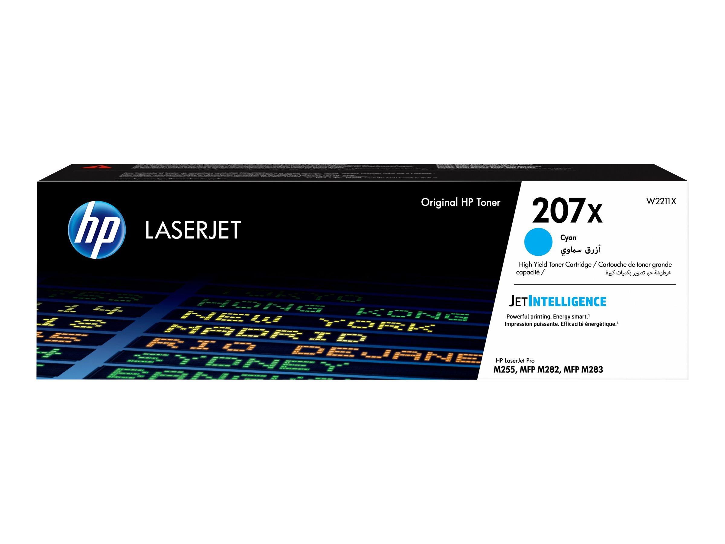 HP 207X - cyan - cartouche laser d'origine
