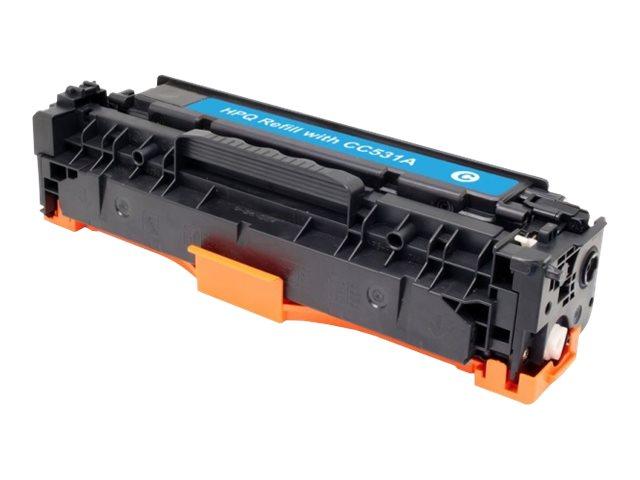 HP 304A - remanufacturé UPrint H.304AC - cyan - cartouche laser