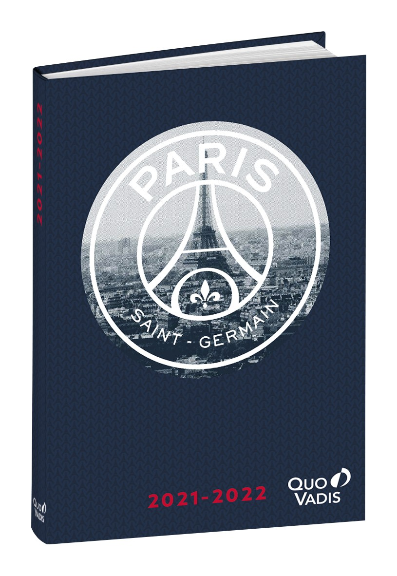 Agenda PSG - 1 jour par page - 12 x 17 cm - Quo Vadis