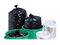 Carton Plus - 25 Sacs poubelle noir 130L - 45 microns