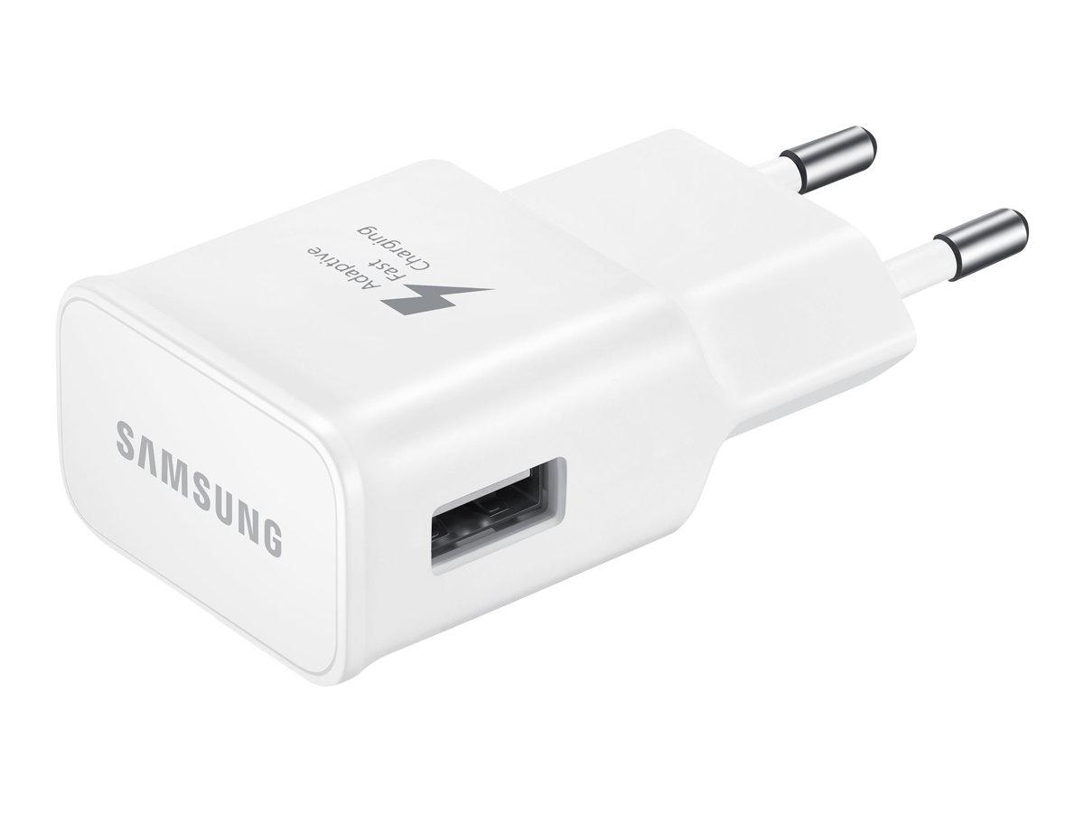 Samsung - Adaptateur secteur charge rapide USB type C - blanc