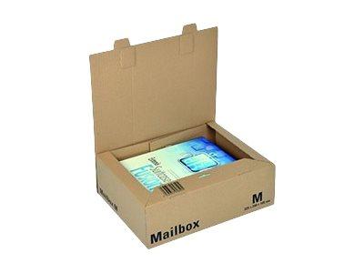 Logistipack M - Boîte postale d'expédition - 32,5 cm x 24 cm x 10,5 cm - kraft brun