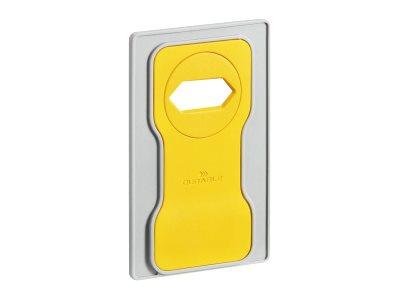 Durable Varicolor - Support de charge pour smartphone - jaune
