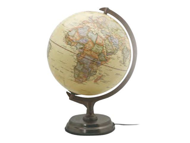Carpentras Sign - Globe antique lumineux - 30 cm