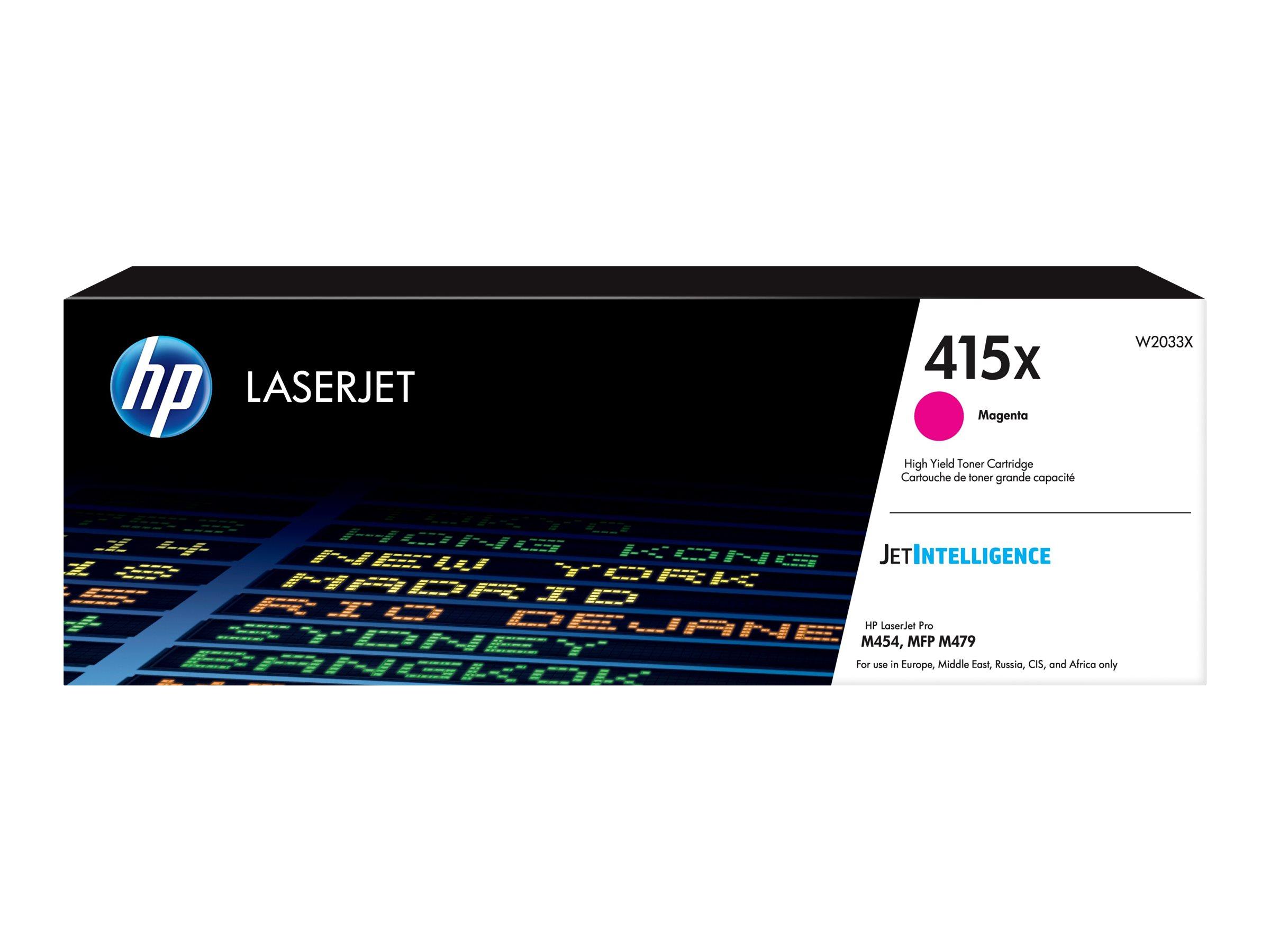 HP 415X - magenta -  cartouche laser d'origine