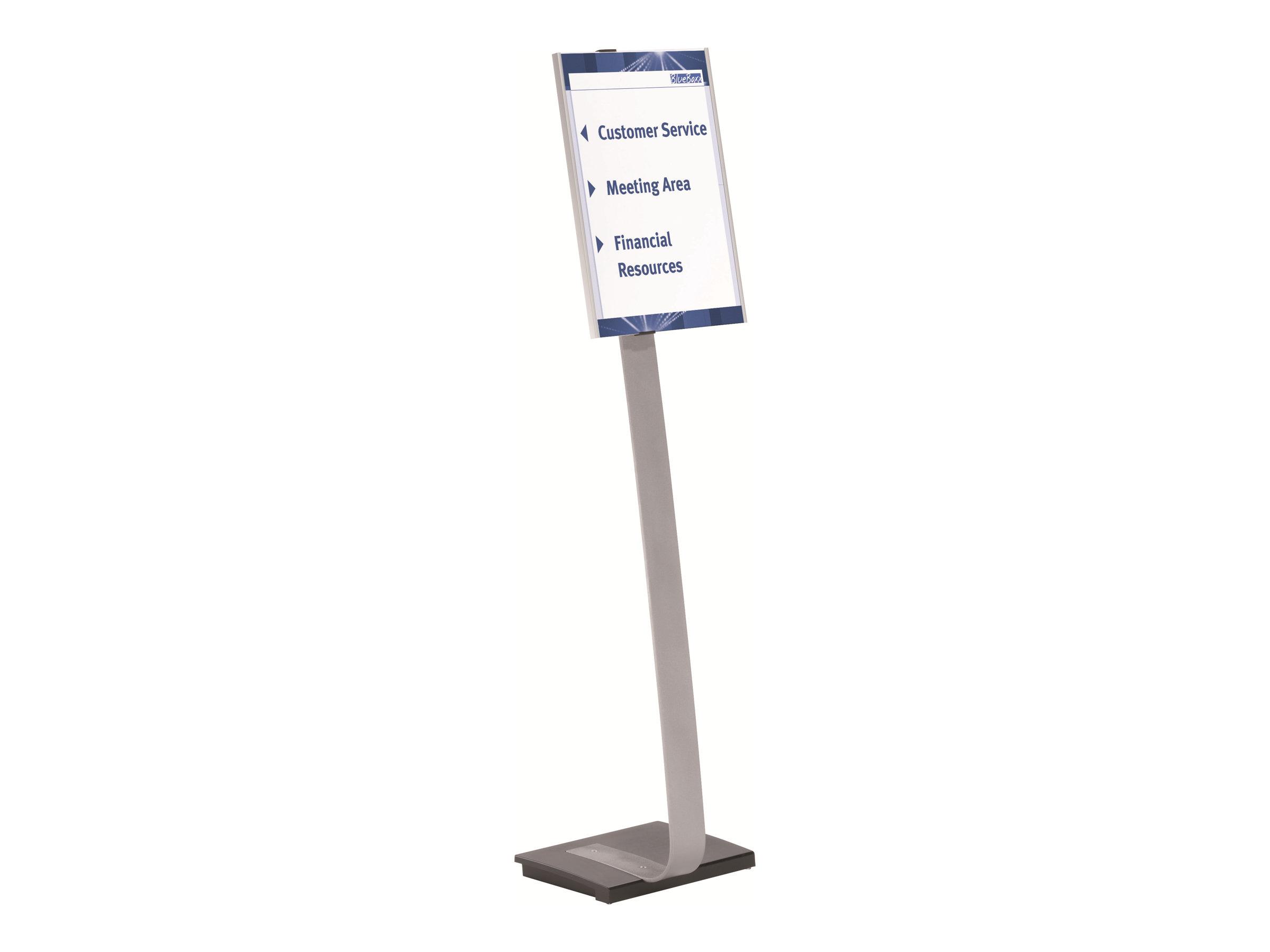 Durable Info Sign - Présentoir sur pied - support d'information A3